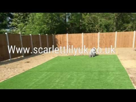 Scarlett lily uk artificial grass - YouTube