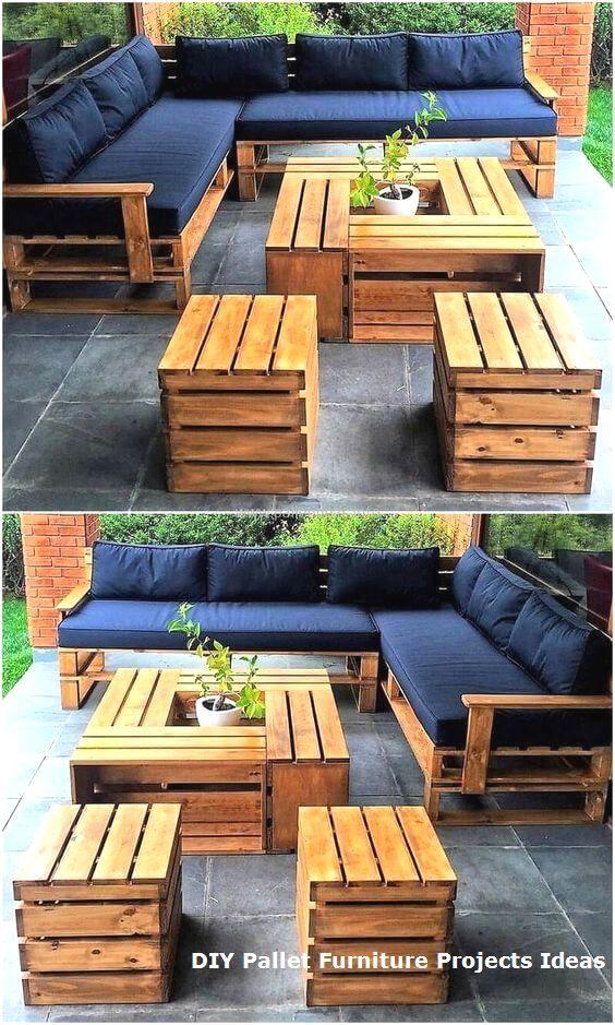 Pallet Garden Furniture Designs Pvc Pallet Diy Chairs Made From Pallets Pallet Furniture Outdoor Diy Pallet Furniture Outdoor Diy Outdoor Furniture