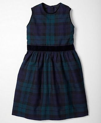 Plaid Brooks Brothers Dress