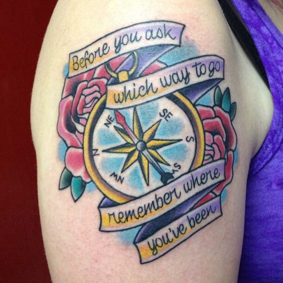 All time low tattoo from the song stay awake the ink is for All time low tattoo