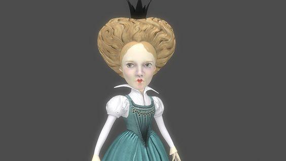 ArtStation - If Alice Was Queen..., Lauren Neel