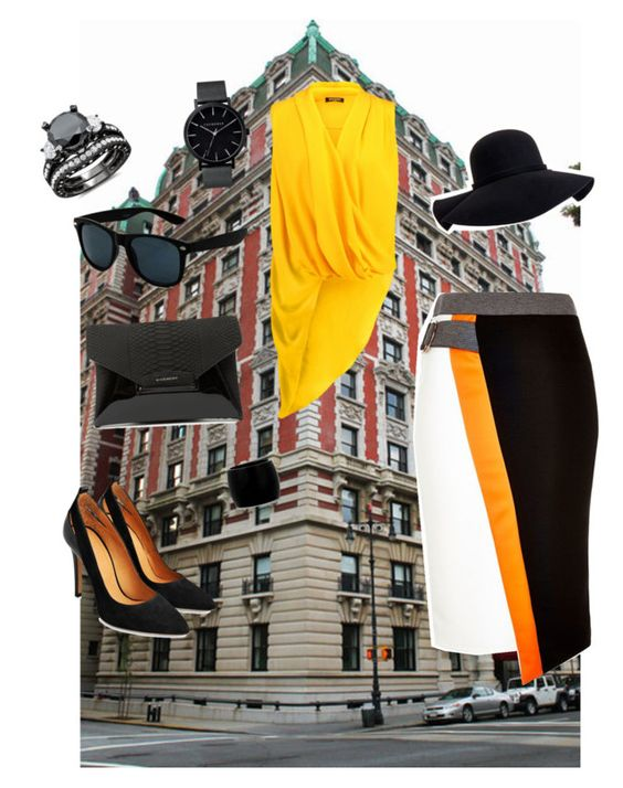 """""""Untitled #81"""" by joellebg ❤ liked on Polyvore featuring River Island, Balmain, Givenchy, Aéropostale, The Horse and Alexander McQueen"""