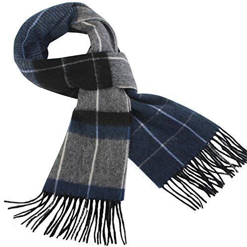New Fashion Men/'s Winter Warm Black 100/% Cashmere Pashmina Long Soft Neck Scarf