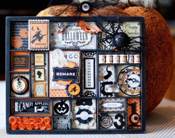 halloween tray