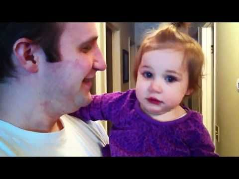 Baby Misses Dad's Beard - #YouTube