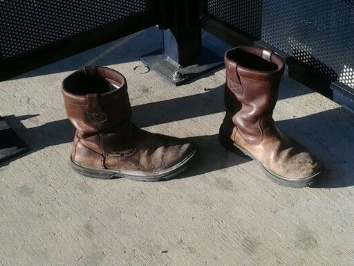 Abandoned boots
