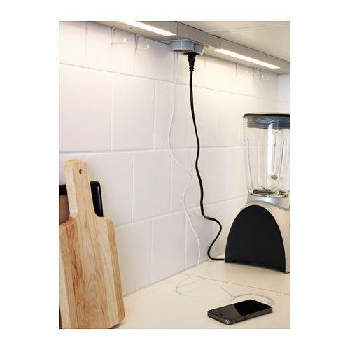 Ikea Rationell Variera Plastic Bag Dispenser ~ UTRUSTA Multipresa a 2 uscite con porta USB  IKEA