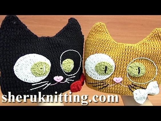 Crochet Cat Hat Pattern Tutorial 6 Part 1 of 2 Crochet Clothes