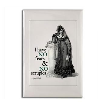 Jane Austen No Fears  and No Scruples