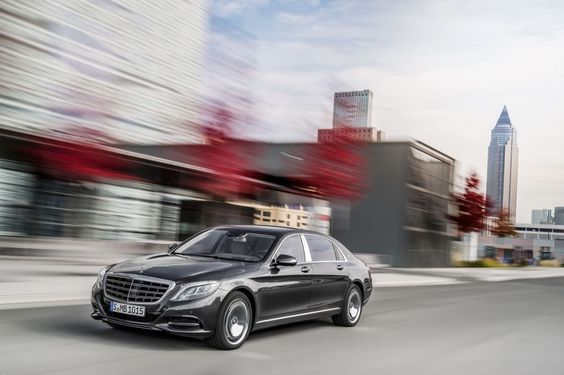 Mercedes-Maybach S600 (X222)