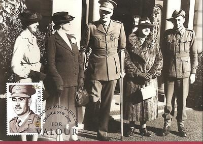 Military Roden Cutler VC Victoria Cross Valour Australia MAXI CARD POSTCARD 2000 | eBay