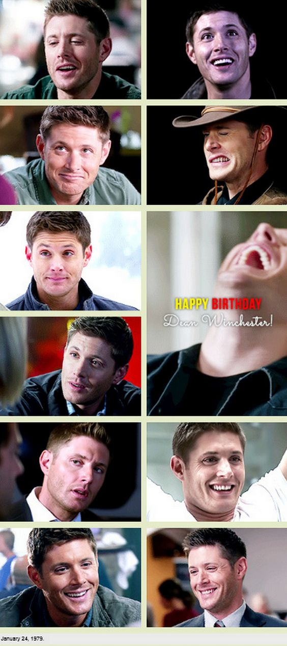 One more for the Happy Birthday Dean spam! [GIFSET]