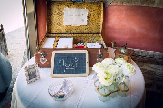 Détails et décoration de mariage. Wedding decoration