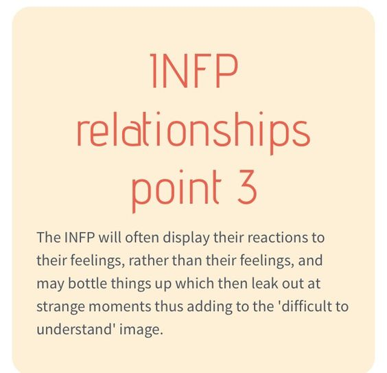 infp personality relationship