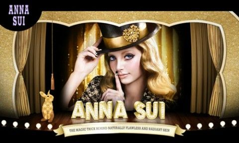 Anna Sui Spring 2012 Brand New Base Makeup Collection