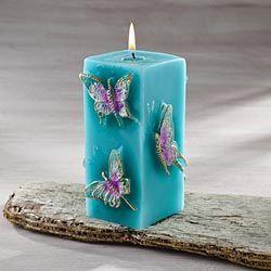 Svíčka * s motýlky