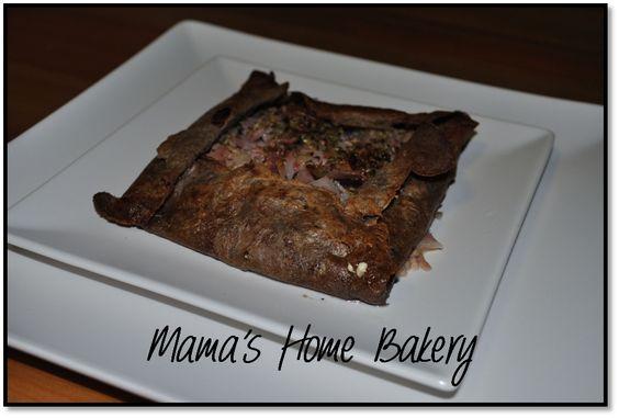 Galettes - Crepes Bretonas - Atún y bacon
