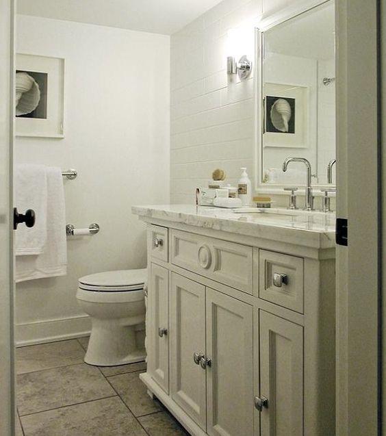 White bathroom vanities white bathrooms and vanities on for Bobs furniture bathroom vanity