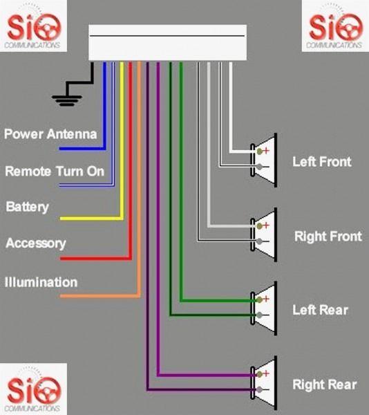 pioneer car speaker wiring diagram trane heat pumps
