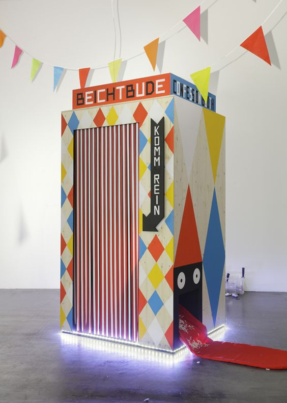 Creative Review - Pssst: an exhibition for children