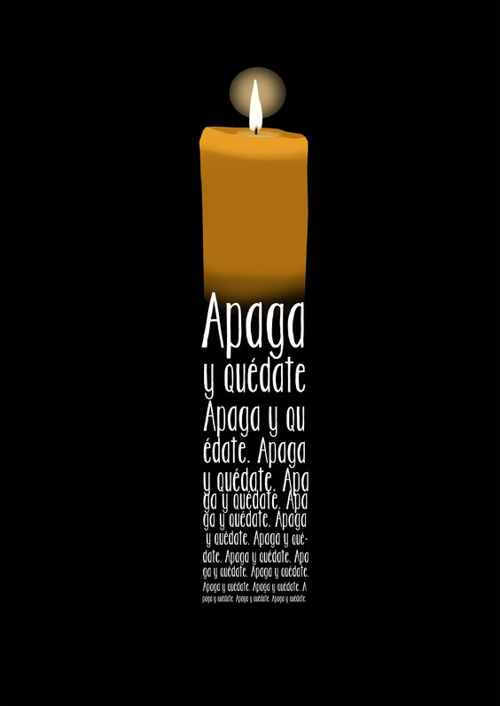Apaga y quédate www.tintasonora.com
