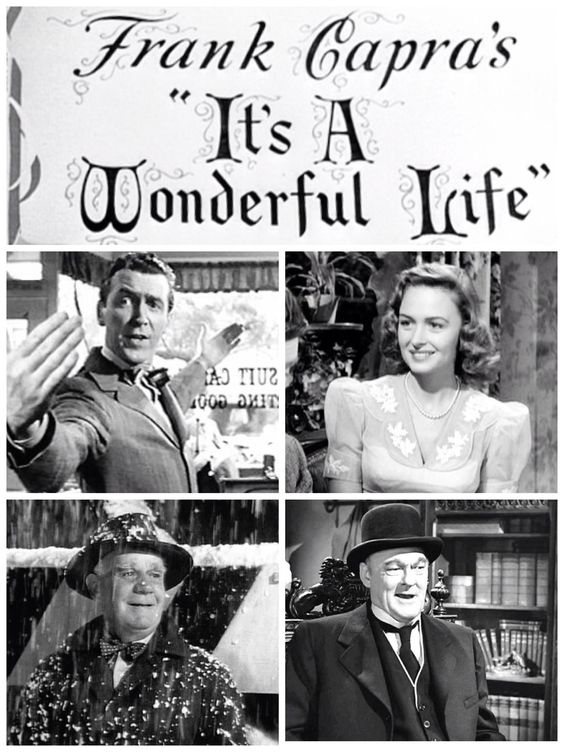 It S A Wonderful Life 1946 Donna Reed And James Stewart Christmas Pinterest Its A