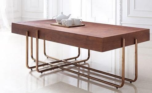 Table Basse Originale Cuivre Et Bois Alchimie Lestendances Fr Table Basse Table Basse Bois Table Basse Originale