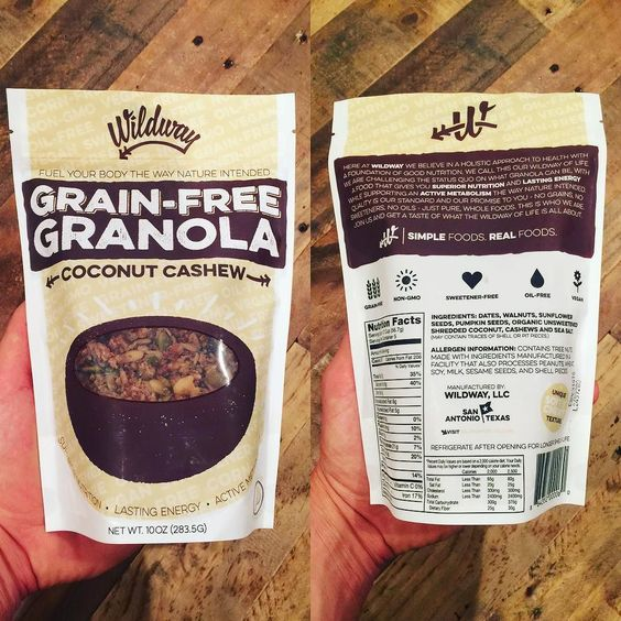 grain free granola from wildwayoflife check out this find from mh fitness director