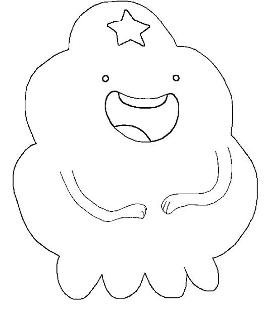 Adventure Time Lumpy Space Princess Laughed Coloring Pages Lumpy Space Princess Coloring Pages Printable