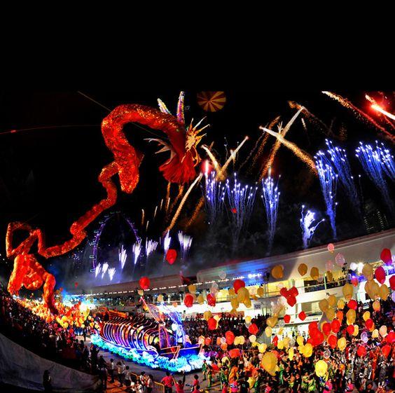 Chingay Parade là lễ hội với nhiều nét đẹp