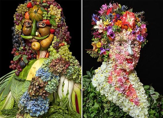 We Have Seen… Flower Arrangements Made with Vegetables
