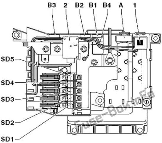 Audi Q7 (4L; 2007, 2008, 2009, 2010, 2011, 2012, 2013, 2014, 2015) Fuse box  diagram   Audi q7, Fuse box, AudiPinterest