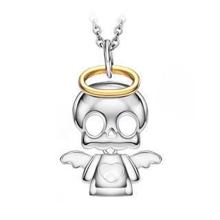 Buy 'BELEC – Halloween 925 Sterling Silver Angel Skeletons Pendant with Necklace' with Free Shipping at YesStyle.com.au. Browse and shop for thousands of Asian fashion items from Japan and more!