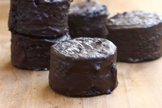 Homemade Ding Dongs - With the announcement that Hostess is filing for bankruptcy again I suddenly became fearful that I would never again eat a Hostess Ding Dong wrapped in foil.
