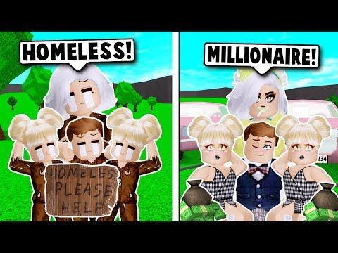 We Were Homeless Until We Won The Lottery On Bloxburg Roblox Youtube Roblox Roblox Memes Winning The Lottery