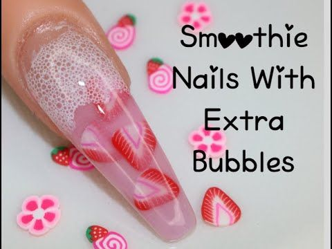 40 Trendy Milk Bath Nails You Must Try Best Acrylic Nails Crystal Nails Summer Acrylic Nails