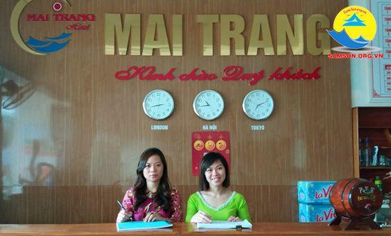 Lễ tân Khách sạn Mai Trang Sầm Sơn