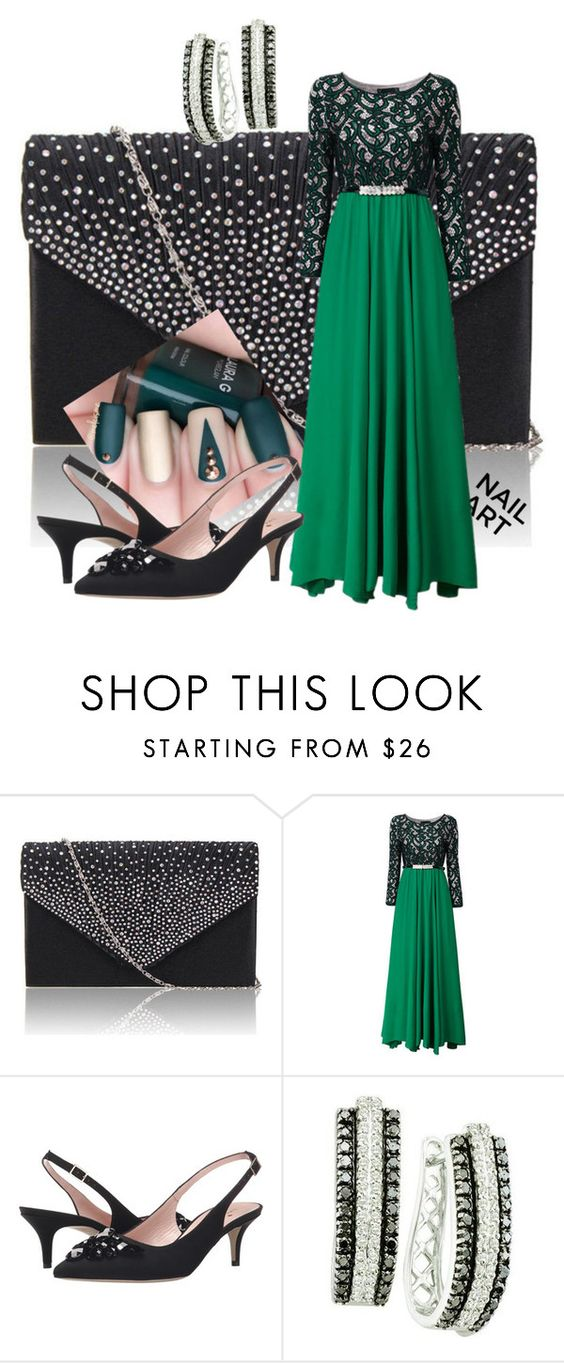 """Green Goddess"" by apinkkiwi ❤ liked on Polyvore featuring Kate Spade"