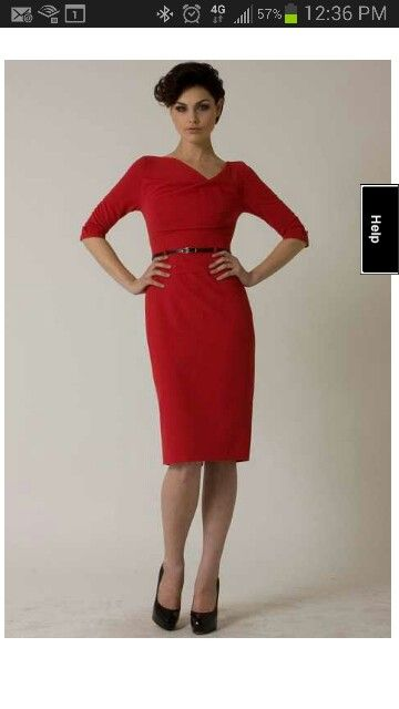 Black halo red &quotjackie o&quot 3/4 sleeve  Dresses  Pinterest  Halo ...