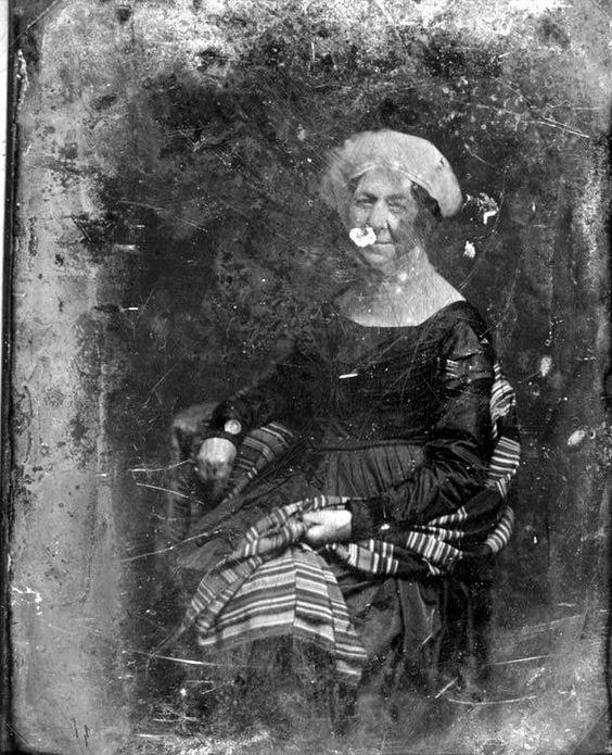 Daguerreotype of Dolley Madison taken in 1848 by Mathew Brady