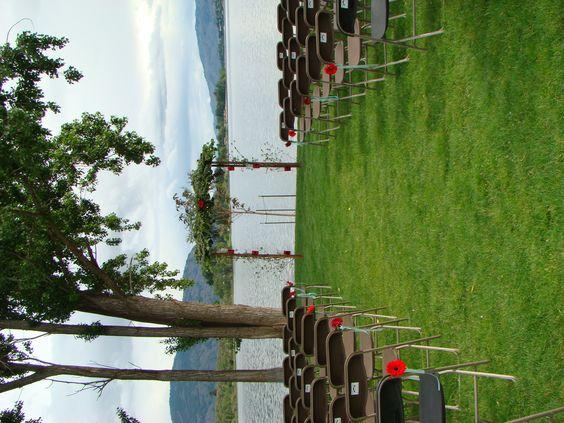 Lakeside wedding at Veranda Beach Resort in Oroville, WA.  www.verandabeach.com