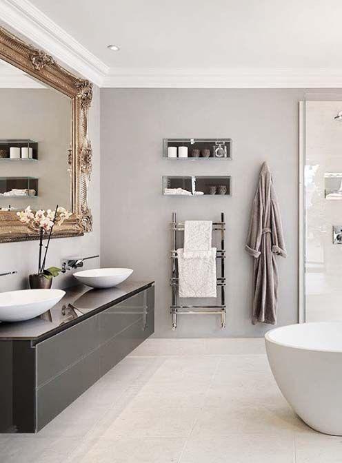 Own your morning bathroom city life home for Urban bathroom ideas