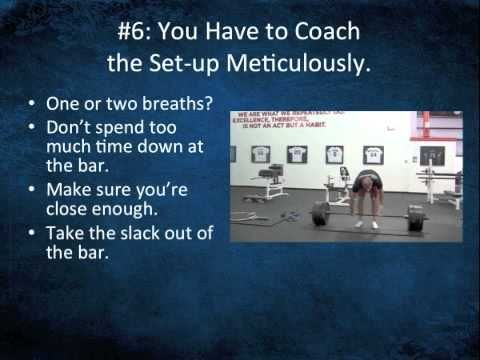 How to Coach the Deadlift Set-up for Strength and Safety | Eric Cressey | High Performance Training, Personal Training
