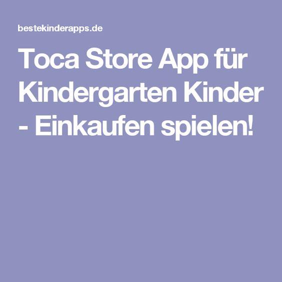 Toca Store App für Kindergarten Kinder - Einkaufen spielen!