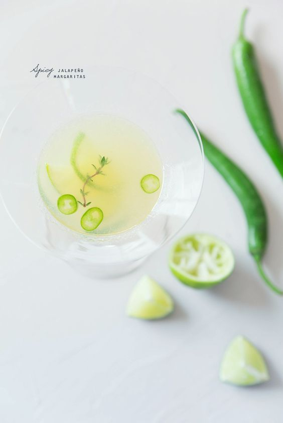 Margaritas epices aux jalpenos