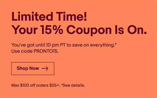 Today Only 15 Off Ebay Coupon Code Up To 100 Nikon Rumors Ebay Coupon Code Coding Discount Codes Coupon