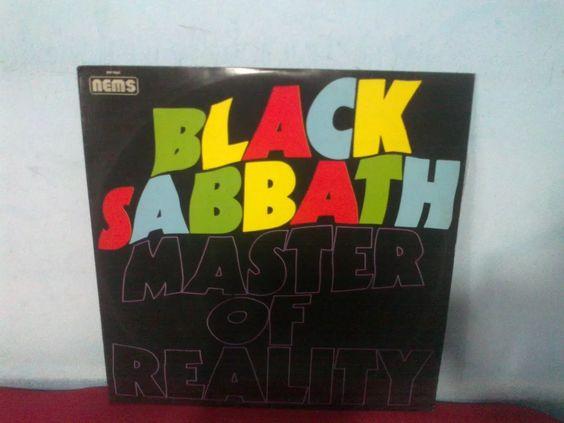 lp black sabbath master of reality otimo estado