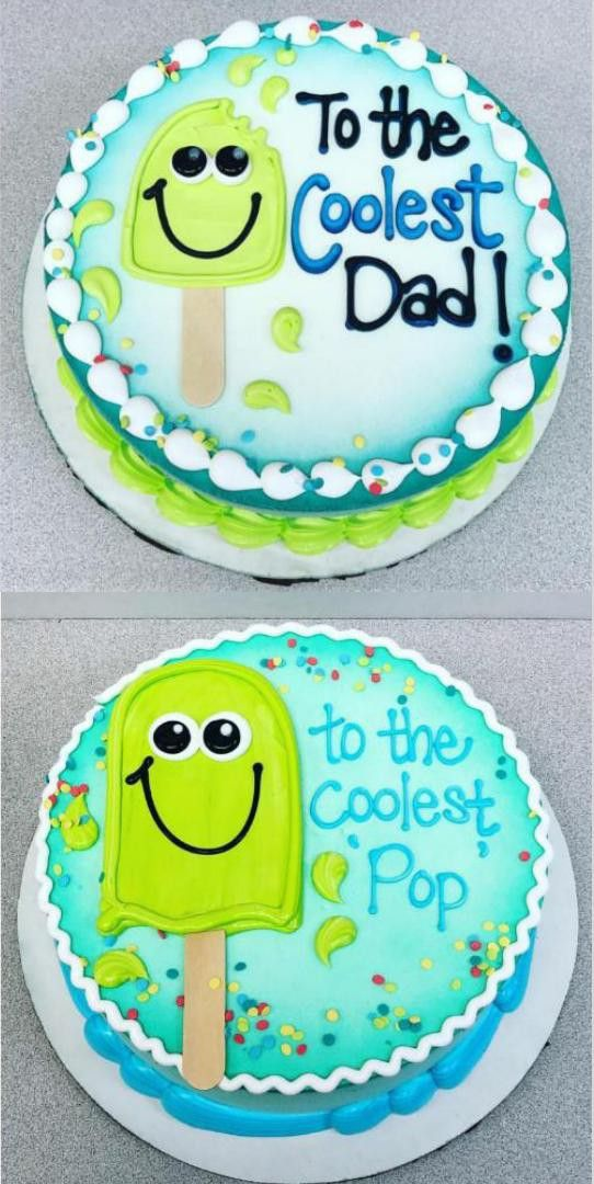 Fathers Day With Images Birthday Cake For Father Cookie Cake