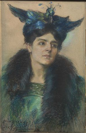 Marianne with Hat by Alice Pike Barney / American Art