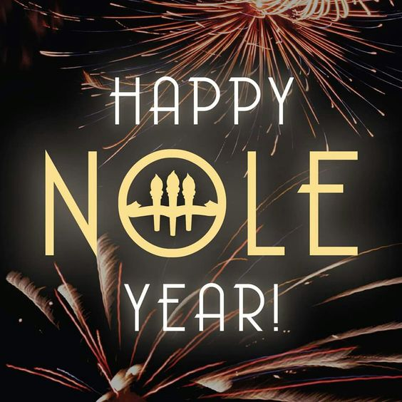 Happy Nole Year..always a SEMINOLE
